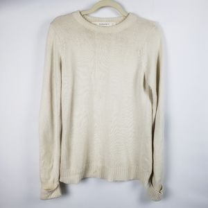 Zara Knit Sweater with Elbow Patches